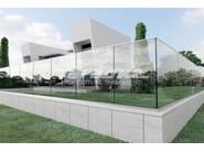 Glass balustrade NINFA 50 - FARAONE