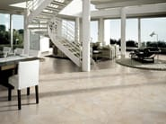Porcelain stoneware flooring with marble effect ELEGANCE - Ceramica Rondine