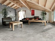 Porcelain stoneware flooring with stone effect ICON - Ceramica Rondine