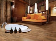 Porcelain stoneware flooring with wood effect NATURALIA - Ceramica Rondine