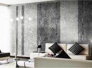 Striped panoramic wallpaper CACHEMIRE WATERCOLOR - N.O.W. Edizioni
