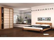 Solid wood bed TOKYO F - Cinius