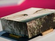 Low square resin coffee table TOMORROW   Coffee table - N.O.W. Edizioni