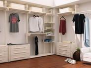 Custom wooden walk-in wardrobe Walk-in wardrobe - Cinius