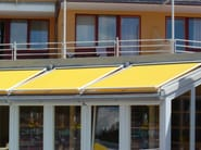 Box awning with guide system MARKILUX 780-880 - markilux