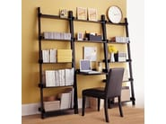 Wall-mounted lacquered modular bookcase YAT | Modular bookcase - Cinius
