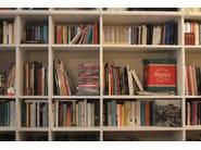 Custom wooden bookcase YUKI - Cinius