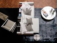 Sled base armchair SOFTWOOD - Nube Italia