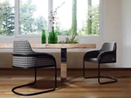 Cantilever armchair STREAM - Nube Italia