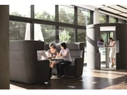 Acoustic meeting pod with built-in lights PARCS Toguna - BENE