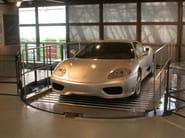 Car lift  serie HMT  special design for GALLERIA FERRARI