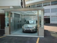 Car lift  serie HMT front view