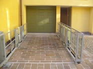 Car lift  serie HMT wilt platform paved