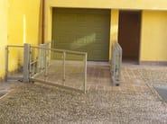 Car lift  serie HMT with paved platform