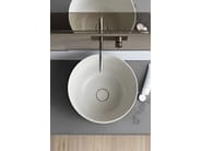 Single wall-mounted ecomalta vanity unit MOODE | Ecomalta vanity unit - Rexa Design