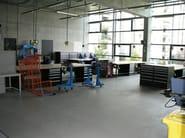 Resin industrial flooring BASIC GF - IPM Italia