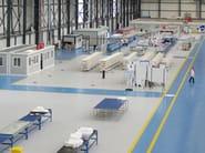 Resin industrial flooring AQUA LEP - IPM Italia