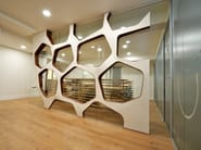 Indoor wooden 3D Wall Surface EO SYSTEM - Wallia