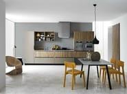 Linear fitted kitchen ARIEL - COMPOSITION 3 - Cesar Arredamenti