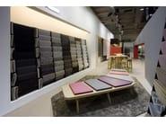 Backless bench seating AIRBENCH BOOMERANG SMALL - Quinze & Milan