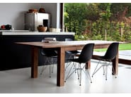 Rectangular teak dining table TEAK STRETCH | Table - Ethnicraft