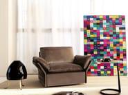 Upholstered armchair TEMPT   Armchair - Nube Italia