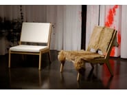 Wooden easy chair ROOM 26 SEAT 01 - Quinze & Milan