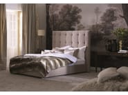 Double bed with removable cover with tufted headboard Gala 28-M + QUADRO PLUS - Schramm Werkstätten