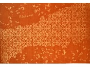 Patterned rectangular wool rug LOFT L08B - Mohebban