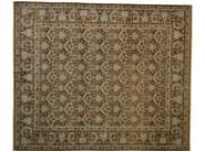 Patterned rectangular wool rug D113460 | Rug - Mohebban