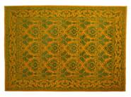 Patterned rectangular wool rug D102751 | Rug - Mohebban