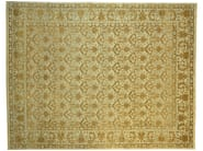 Patterned rectangular wool rug D116034 | Rug - Mohebban