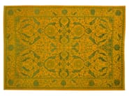 Patterned rectangular wool rug D152751 | Rug - Mohebban