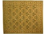 Patterned rectangular wool rug D102053 | Rug - Mohebban