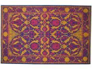 Patterned rectangular wool rug D156527 | Rug - Mohebban