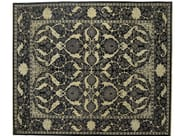 Patterned rectangular wool rug D159014 | Rug - Mohebban