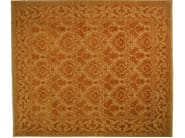 Patterned rectangular wool rug D102245 | Rug - Mohebban