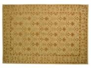 Patterned rectangular wool rug D111037 | Rug - Mohebban