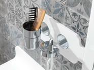 Metal toothbrush holder MOOD | Toothbrush holder - NOKEN DESIGN