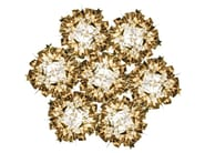 Goldflex® ceiling lamp VELI 7 GOLD - Slamp