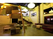 QM Foam leisure sofa PENTAGON SOFA SMALL - Quinze & Milan