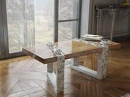Wooden bench FIGEN - Malabar Emotional Design