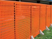 Modular fencing for building site LIMIT 2 - TENAX