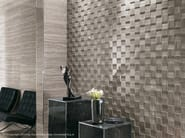 Travertino Silver Mosaico 3D