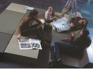Low rectangular QM Foam coffee table MATRASS MAT 150 - Quinze & Milan