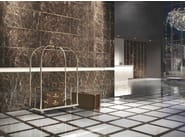 Porcelain stoneware wall/floor tiles with marble effect MARMOKER - Casalgrande Padana