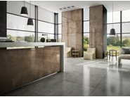Porcelain stoneware wall/floor tiles with metal effect STEELTECH - Casalgrande Padana