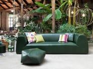 3 seater leather sofa GRAVITÀ | Leather sofa - MissoniHome