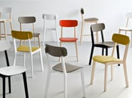 Beech chair CREAM | Chair - Calligaris