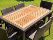 Rectangular garden table ALASSIO   Rectangular table - Mediterraneo by GPB